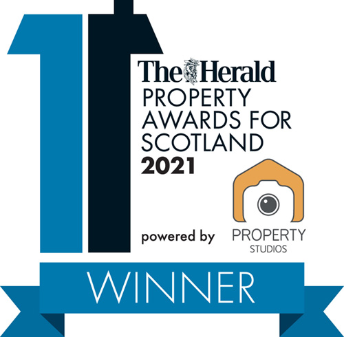 Winners Badge - The Herald Property Awards for Scotland 2021 powered by Property Studios